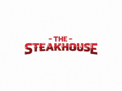 The Steakhouse textured texture white red western indian steakhouse house steak