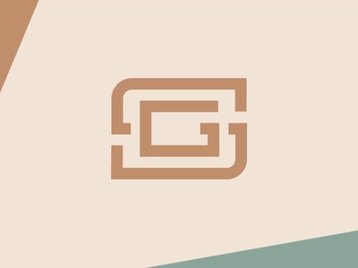 ShanGram mark green brown branding logo blog camera g s