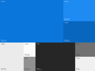 Accessible color palette