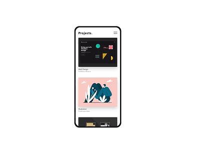 IxD Challenge — Day 5 21daysofixd app design minimalism invision studio ixd animation ux ui