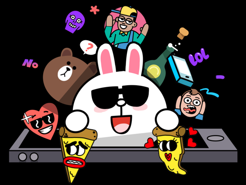 The Sticker Shop Contest contest stickers cintiq win illustration character emoji cartoon comic animation gif