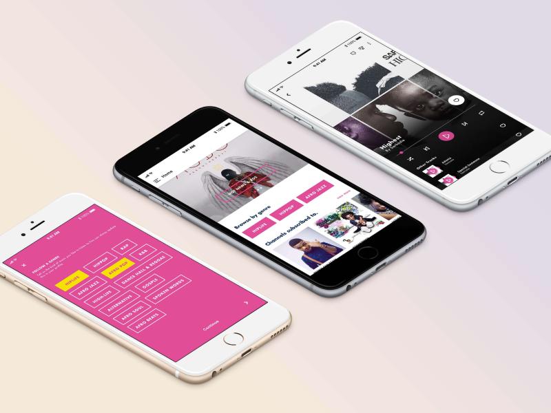 Sario first version artist musician stream designer design ux ui creator content streaming music