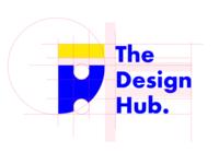Logo Construction For The design hub Ghana