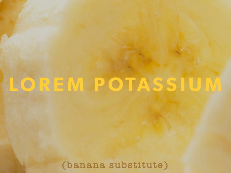 Lorem potassium