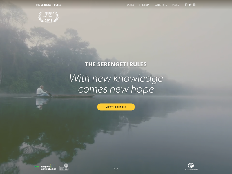 The Serengeti Rules: Documentary Film Website