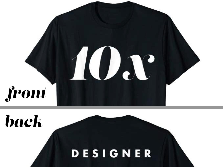 10x designer   promo   drib 2x