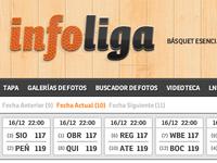 infoliga: scores - update