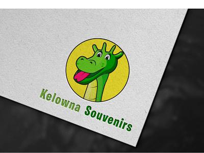 Kelowna souvenirs mockup animals cartoon flat 2d 3d icon typography ui design illustration branding logo vector hand handmade letter page design