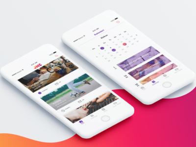 JNE - Social app concept