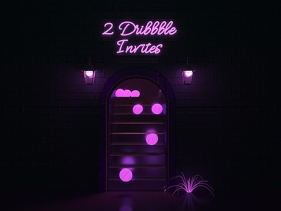 2 Dribbble Invites for 2 awesome people