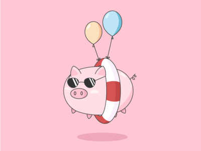 Pig And The Balloons