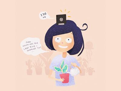 Forgetful Plantlady