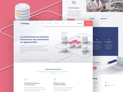 Planilog - Features features page features css animation animation css html ux ui branding 3d illustration web design webdesign