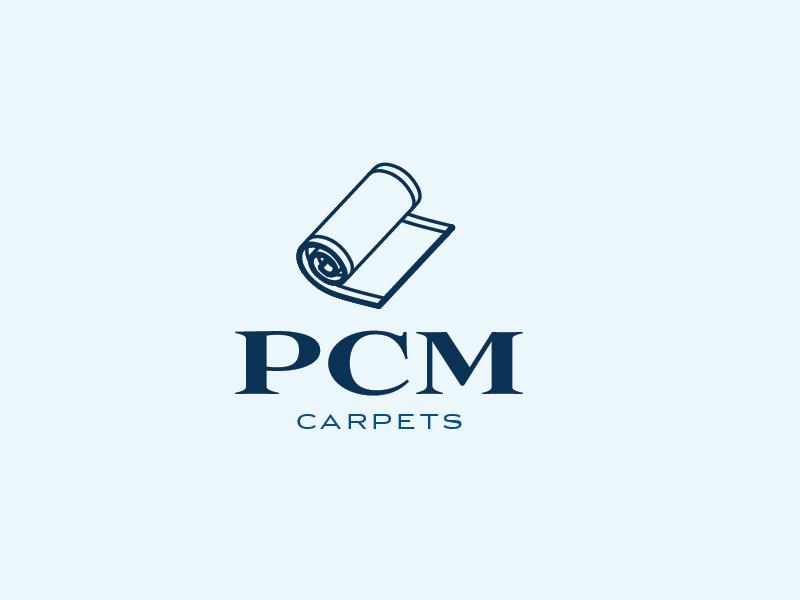 PCM Carpets logo carpet branding