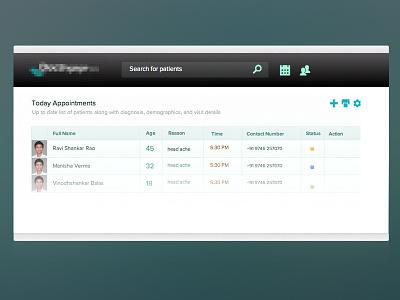 Toolbar medical app ux ui