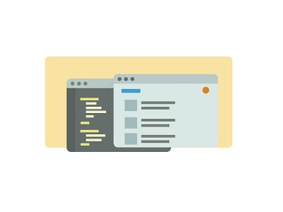 Coding Windows coding developers window icon flat texteditor backend