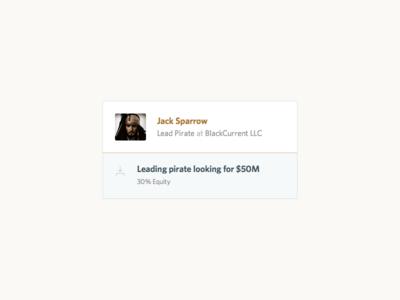 User Card card profile user finance