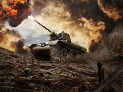 Soviet weapons of WW2 artillery explosion world war ww2 soviet weapon military tank game t-34 katyusha