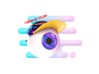 Playful Eye