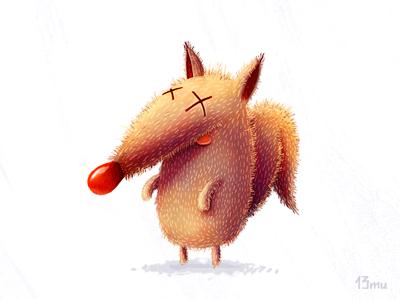 Monday fox monday fox 13mu illustration animal