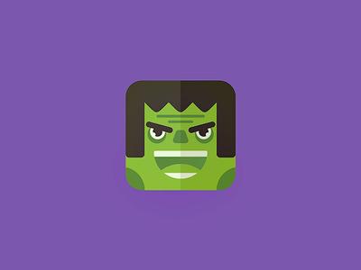 Hulk hulk 13mu superhero comics green monster illustration icon fun