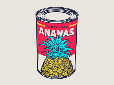 Condensed ananas 13mu ananas pineapple can condensed