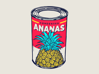Condensed ananas