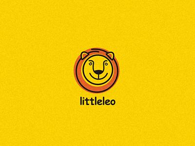 Littleleo lion logo smile 13mu