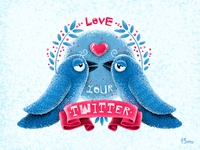 Love your twitter