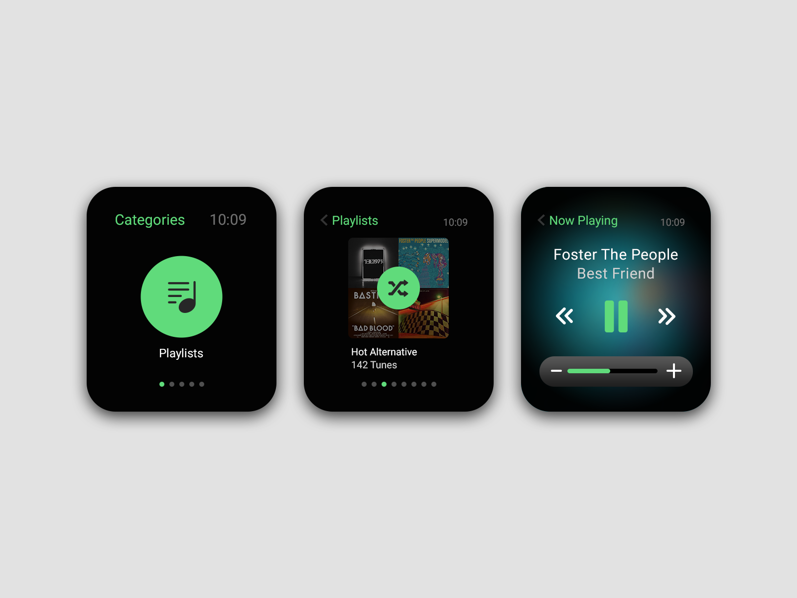 best music apps for apple watch