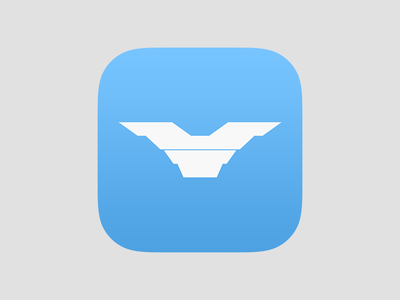 Wings Icon clean ios wings icon