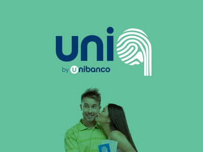 Uniq rewards brand logotype logo uniq