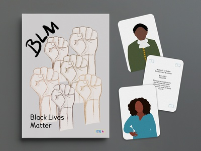 Black Lives Matter Educational Zine bookdesign book blm zine print typography print design illustration design