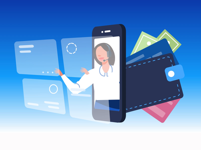 Mobile Banking branding animation character woman dribbble vector flat illustration