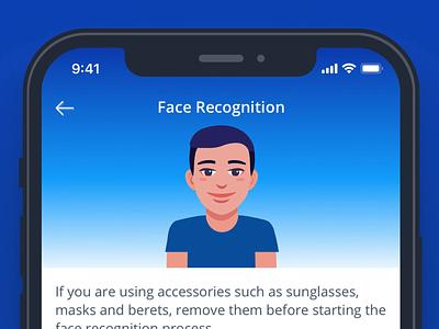 Face Recognition face recognition face id tutorial technology animation ui dribbble ux animation tutorial animation walkthrough