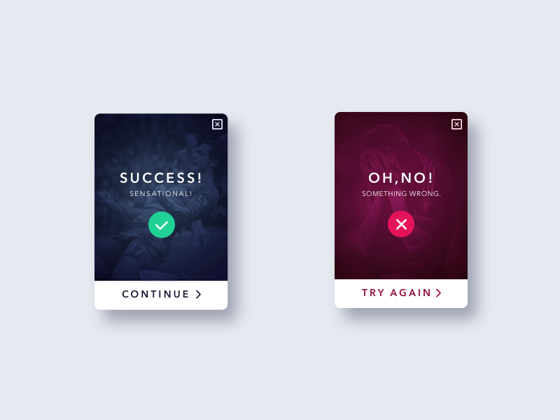 Daily ui 011 flash message