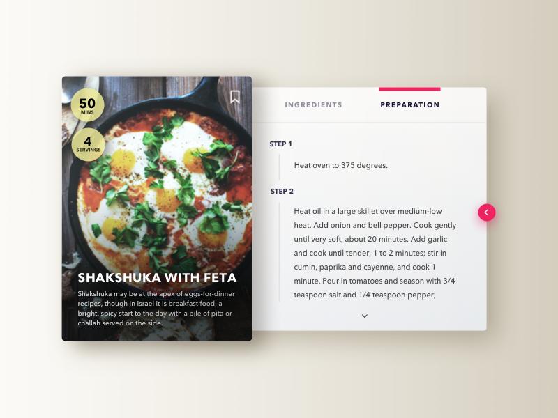 Recipe recipe 040 dailyui