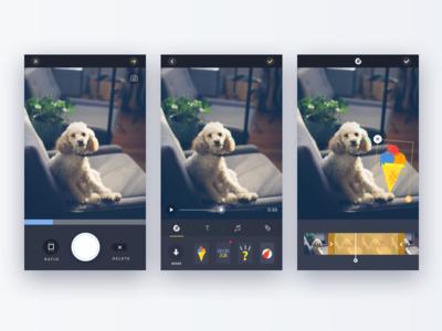 Pamily App - Shooting & Editing pet camera app video