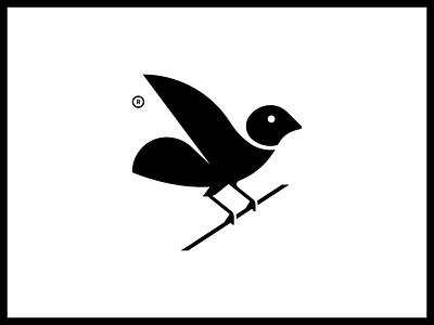 Bird branch pigeon wings mark vector art vector black logo illustration animal illustrator branch bird