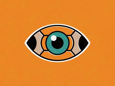 Pencil Eye illustration illustrator vectorart vector pencil eye sticker mark