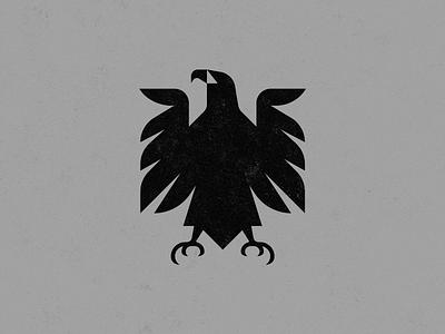 Eagle grunge illustrator mark animal bird grey noise vector grunge textures black
