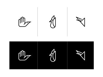 Bird mark [WIP] mark bird illustrator vector animal logo