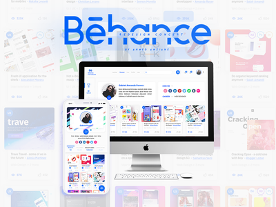 Behance Redesign Concept