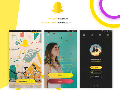 Snapchat Redesign Concept