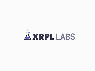 XRPL Labs Company logo purple lab bold logo