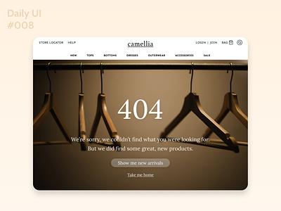 Daily UI 008 dailyui webdesign 404 page figma 404page 404 daily ui 008 dailyuichallenge dailyui008