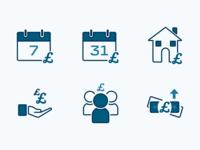 Danske Bank eBanking Icons