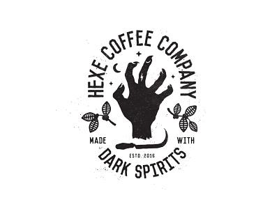Hexe Shirt branding barrel-aged bourbon dead spirits dark shirt coffee