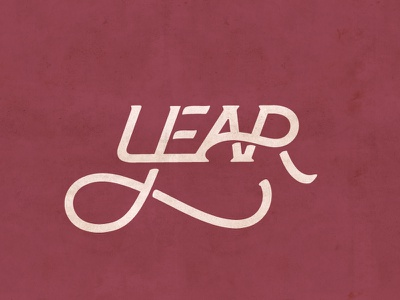 Leap Year 2020 twoinone letters connected typography type custom combo leapyear