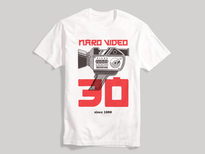 Naro Video Graphic Tee Illustration